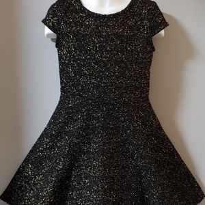 Sonoma Black Girls Formal Holiday Dress Sz 5 EUC
